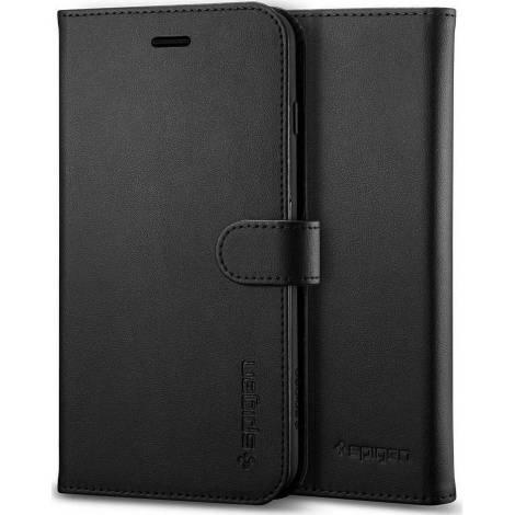 Θήκη Spigen Wallet S Flip Cover για iPhone 8 (Μαύρο)