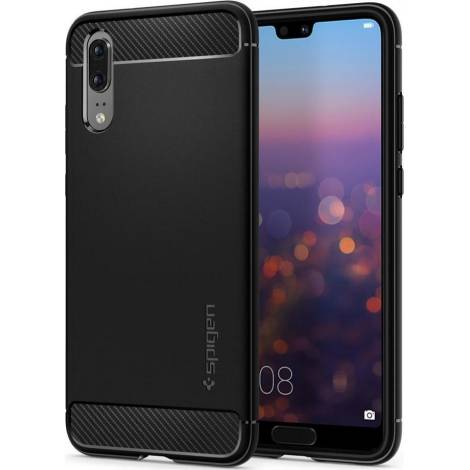 SPIGEN HUAWEI P20 CASE RUGGED ARMOR BLACK (L21CS23080)