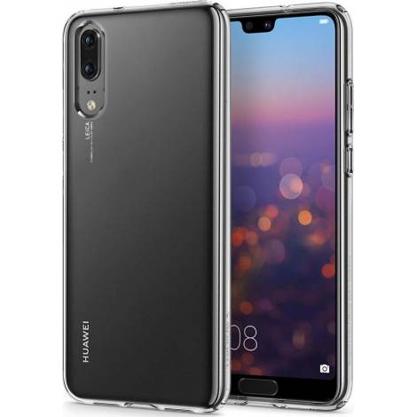 Spigen® Liquid Crystal για το Huawei P20, Crystal Clear (L21CS23081)