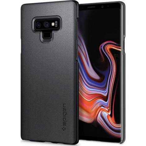 Spigen Thin Fit για Samsung Galaxy Note 9, Graphite Gray (599CS24567)