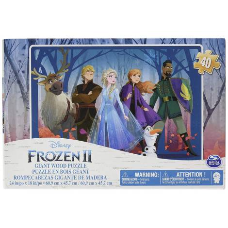 Spin Master Frozen 2 Giant Wood 24x18 Puzzle Shoe Box (6053000)