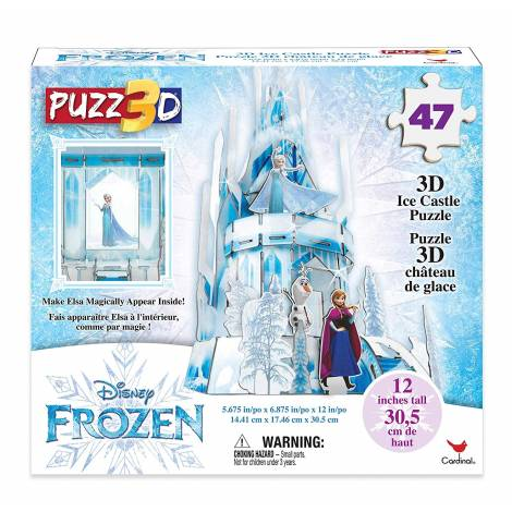 Spin Master Frozen 2 - Puzzle to build a 3D Castel (6053088)