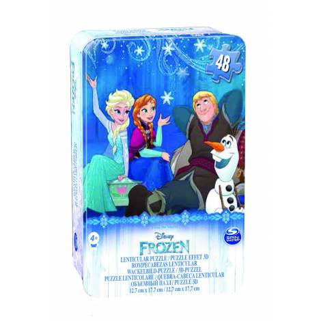 Spin Master Frozen 2PK Lent Signature Puzzle/in plastic shaped case (6053767)