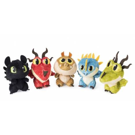 Spin Master - How to Train Your Dragon - Dragon Eggs Plush Toy (Random) (1τμχ. τυχαία επιλογή)