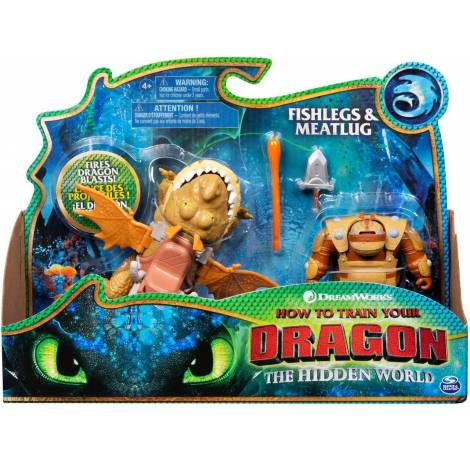 Spin Master How to Train Your Dragon: Dragon & Viking - Fishlegs & Meatlug (20103712)