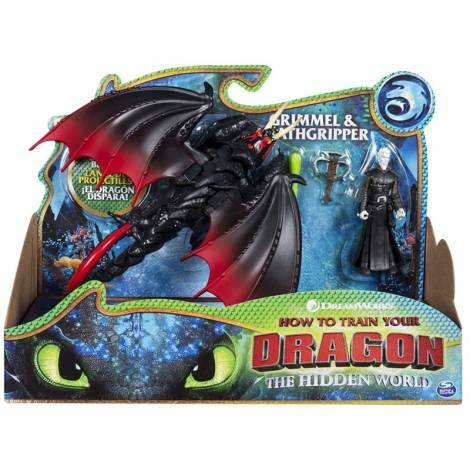 Spin Master - How to Train Your Dragon - Dragon & Viking - Grimmel & Deathgripper (20103713)