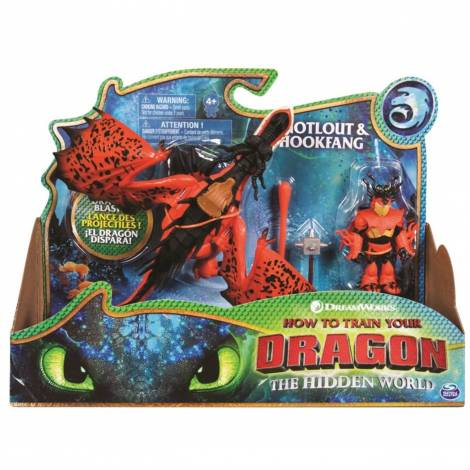 Spin Master How to Train Your Dragon: Dragon & Viking - Hiccup & Lightfury (20107882)