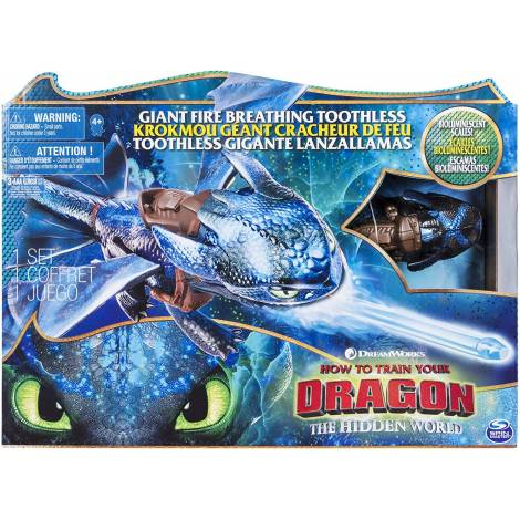 Spin Master How to Train Your Dragon - Giant Fire Breathing Toothless (6045436)