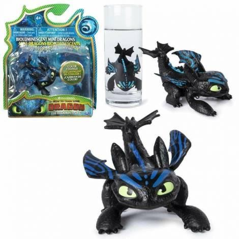Spin Master - How to Train Your Dragon Mini Dragons Figures - Black Dragon (20104707)