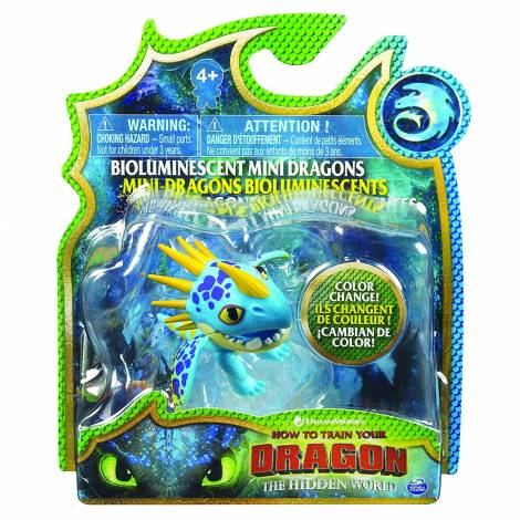 Spin Master - How to Train Your Dragon Mini Dragons Figures - Blue Dragon Color Change (20104710)
