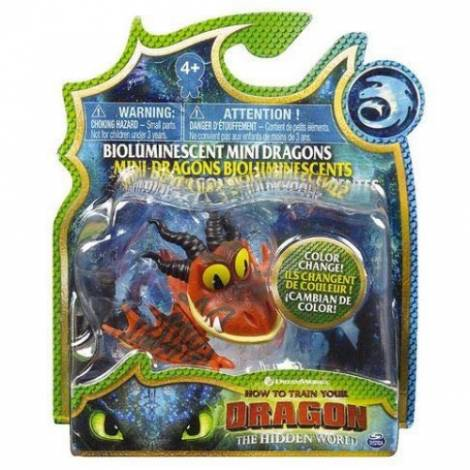 Spin Master - How to Train Your Dragon Mini Dragons Figures - Orange Dragon (20104709)