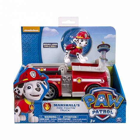 Spin Master - Paw Patrol Basic Vehicles - Marshall's Fire Fighting Truck (20084880)