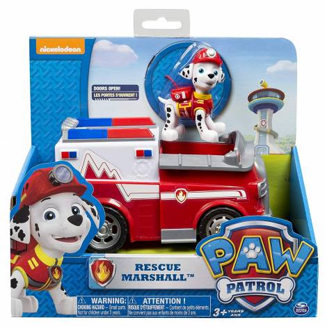 Spin Master - Paw Patrol Basic Vehicles - Rescue Marshall (20068615)