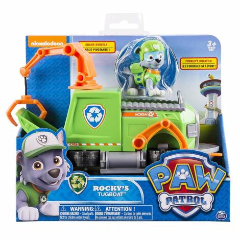 Spin Master - Paw Patrol Basic Vehicles - Rocky's Tugboat (20084881)