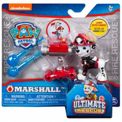 Spin Master - PAW Patrol Ultimate Fire Rescue - Marshall with Water Cannons! (20103600)