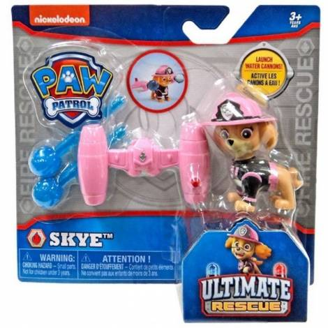 Spin Master - PAW Patrol Ultimate Fire Rescue - Skye with Water Cannons! (20103603)