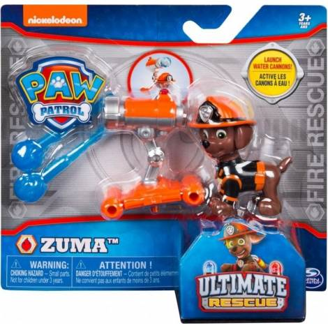 Spin Master - PAW Patrol Ultimate Fire Rescue - Zuma with Water Cannons! (20103601)
