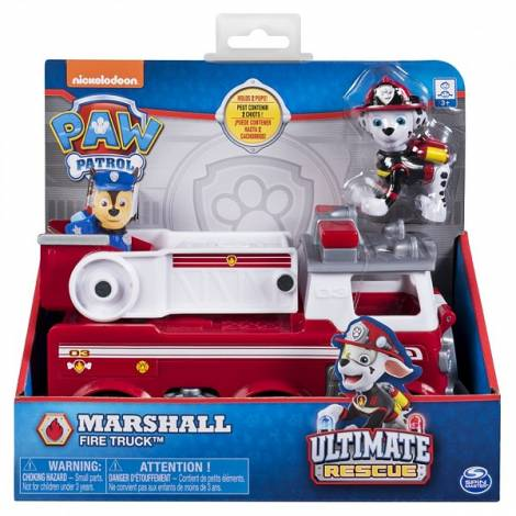Spin Master - Paw Patrol Ultimate Rescue Basic Vehicles - Marshall's Fire Truck (20101535)
