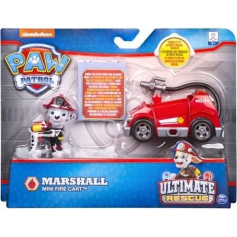 Spin Master - Paw Patrol Ultimate Rescue Mini Vehicles - Marshall Mini Fire Cart (20101480)