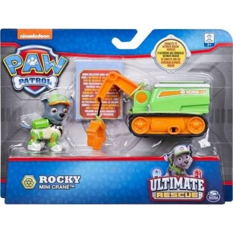 Spin Master - Paw Patrol: Ultimate Rescue Mini Vehicles - Rocky Mini Crane (20101482)