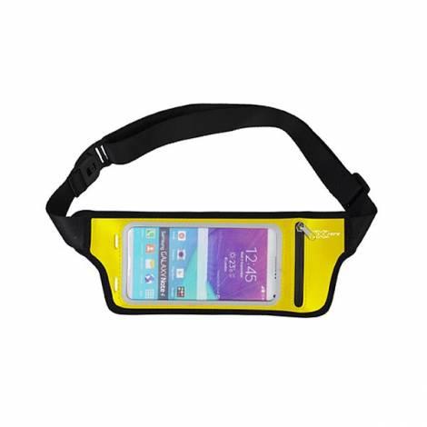 Sport θήκη μέσης για smartphones, κάρτες και κλειδιά κίτρινο X-P3781Y X-zero