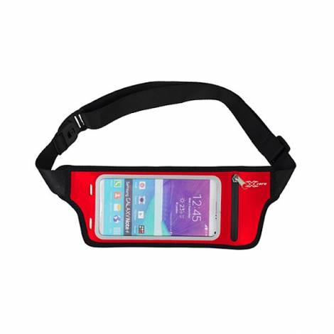 Sport θήκη μέσης για smartphones, κάρτες και κλειδιά κόκκινο X-P3781R X-zero