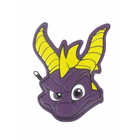 Spyro - Face Shaped Coin Purse