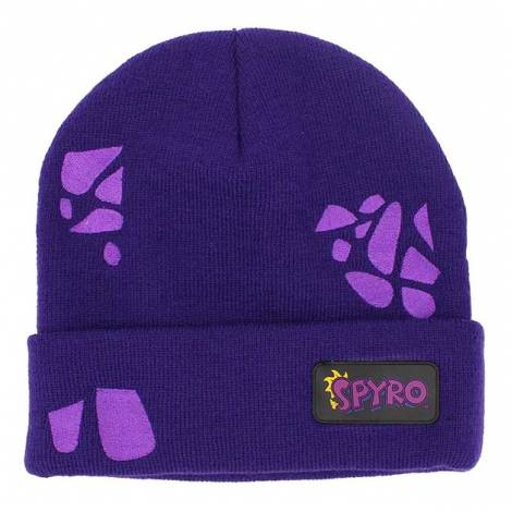 Spyro - Scales & Logo Purple Beanie