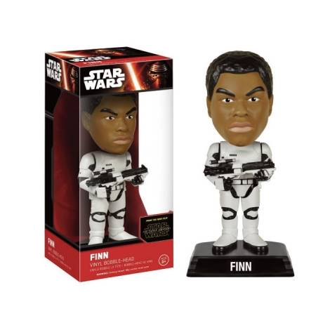 STAR WARS EPISODE 7 - FINN STORMTROOPER VINYL BOBBLE-HEAD FIGURE (15cm)