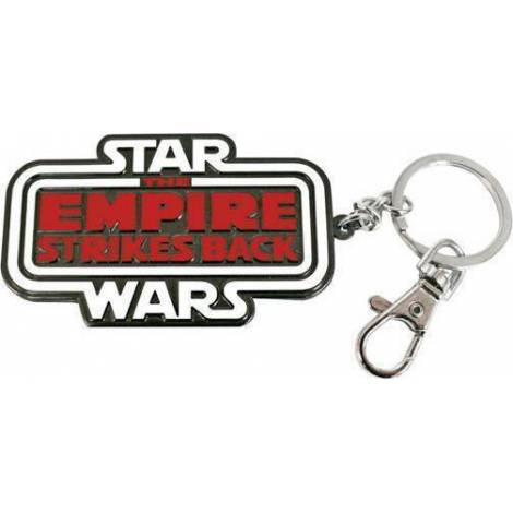 STAR WARS - THE EMPIRE STRIKES BACK LOGO SNAP SMALL KEYCHAIN (SDTSDT20017)