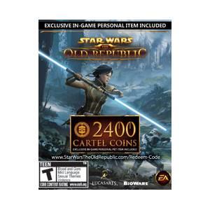 Star Wars: The Old Republic (SWTOR) 2400 Cartel Points - CD Key (Κωδικός μόνο) (PC)