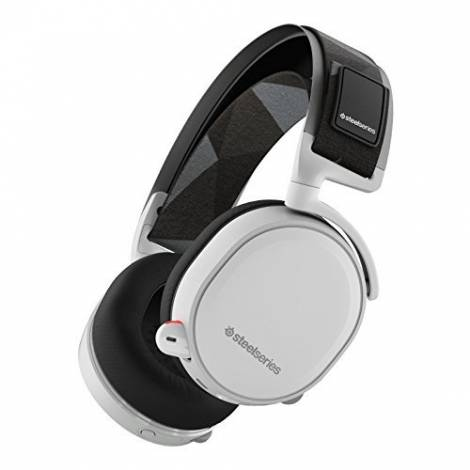 SteelSeries Arctis 7, Gaming Headset, Wireless, DTS 7.1 Surround White  (PC / Mac / Playstation / Mobile / VR)