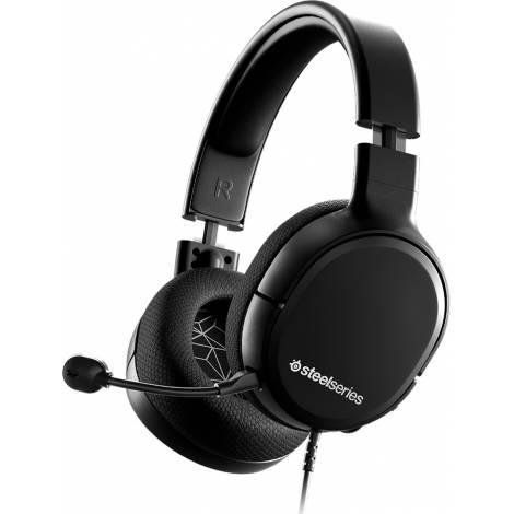 STEELSERIES HEADSET ARCTIS 1 BLACK (PC) + QCK MINI