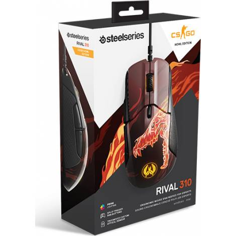 Steelseries Rival 310 CS:GO Howl Edition mice USB Optical Right-hand Multi (62434)
