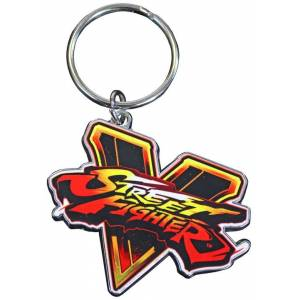 STREET FIGHTER V EMBLEM KEY RING