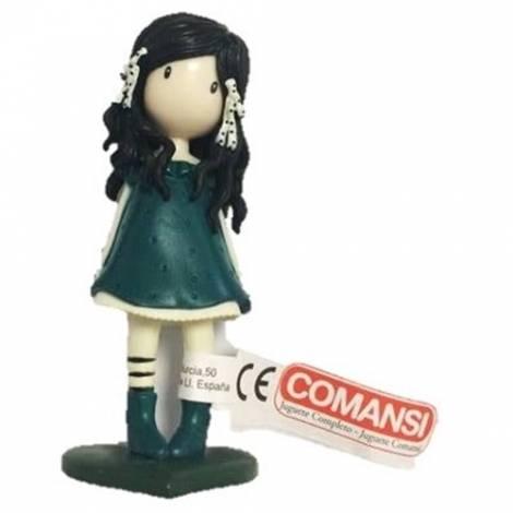 Comansi  Συλλεκτική μινιατούρα Πράσινη You Brought Me Love Gorjuss (COM90111)