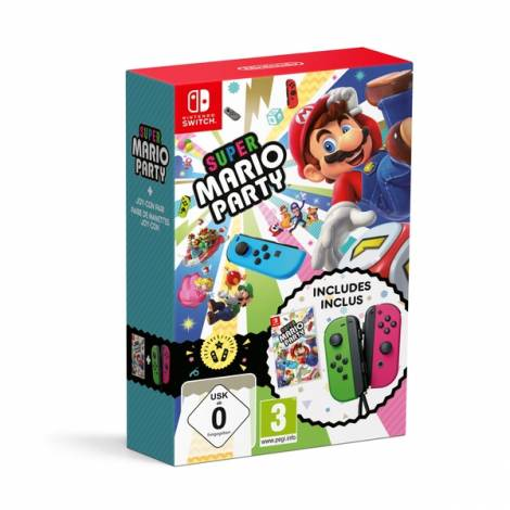 Super Mario Party - Limited Edition (Includes Joy - Con Pair) (NINTENDO SWITCH)