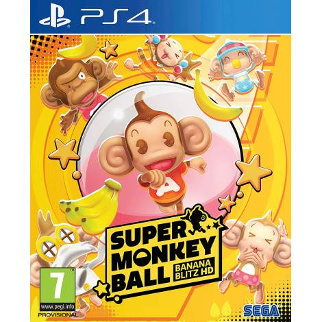 Super Monkey Ball Banana Blitz HD (PS4)