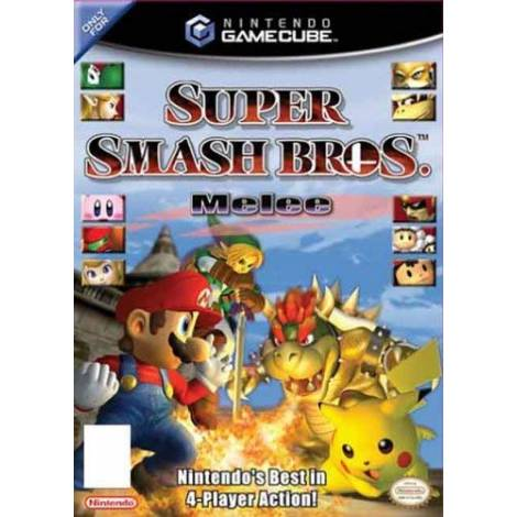 Super Smash Bros - Melee (GAME CUBE) (CD ONLY)