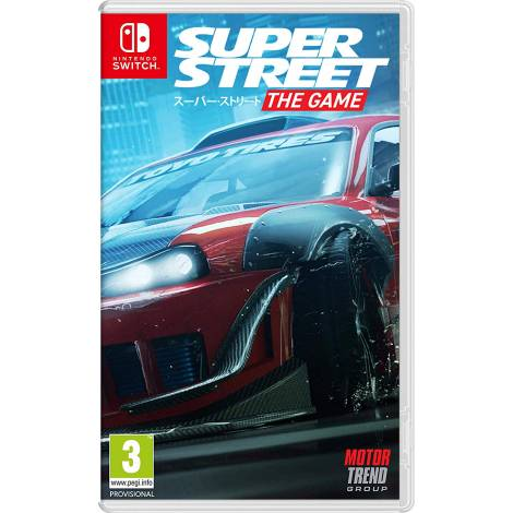 Super Street: The Game (Nintendo Switch)