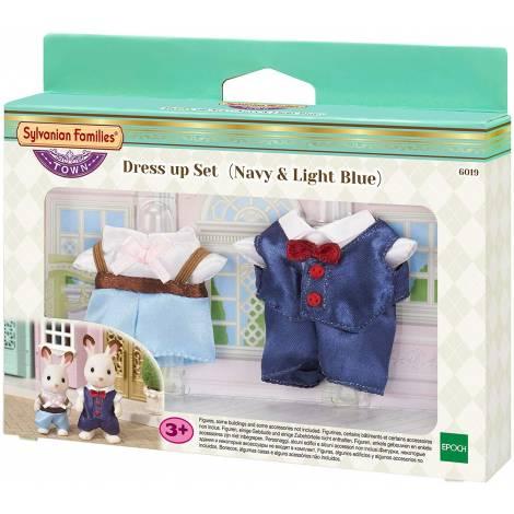 Sylvanian Families: Town Series - Dress up Set (Navy & Light Blue) (6019)