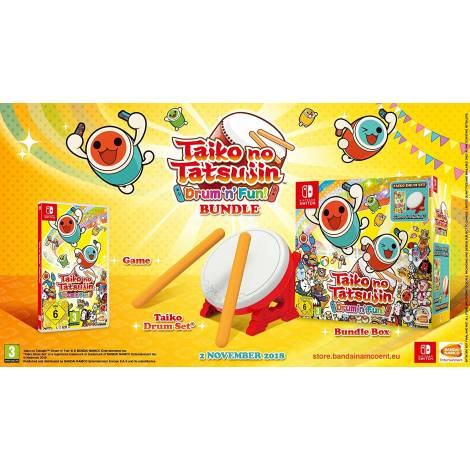 Taiko no Tatsujin: Drum 'n' Fun! Collector's Edition (Nintendo Switch)