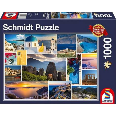 Take a Trip to Greece 1000pcs (58338) Schmidt