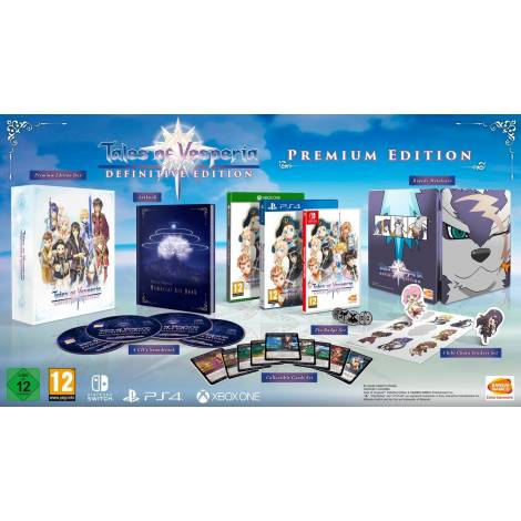 Tales of Vesperia Definitive Edition Premium Edition (Nintend Switch)