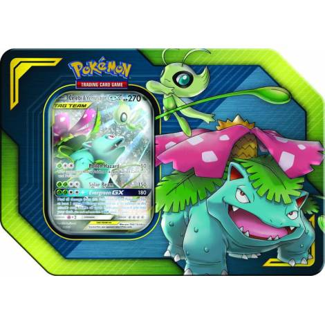 TCG Pokemon: Tag Team Tin - Celebi & Venusaur GX