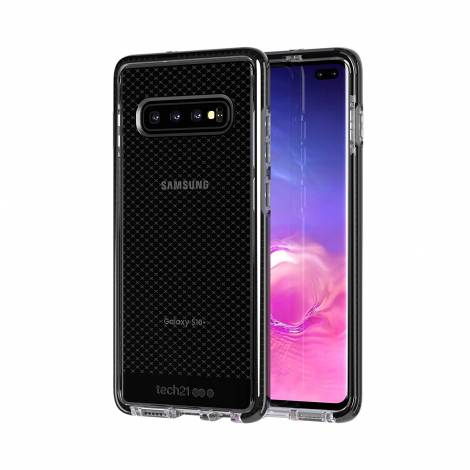 Tech21 Evo Check for Samsung Galaxy S10+ - Smokey/Black (T21-6949)