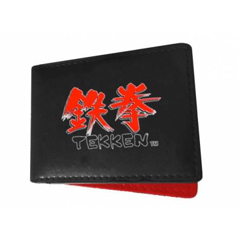 TEKKEN LOGO BLACK/RED WALLET