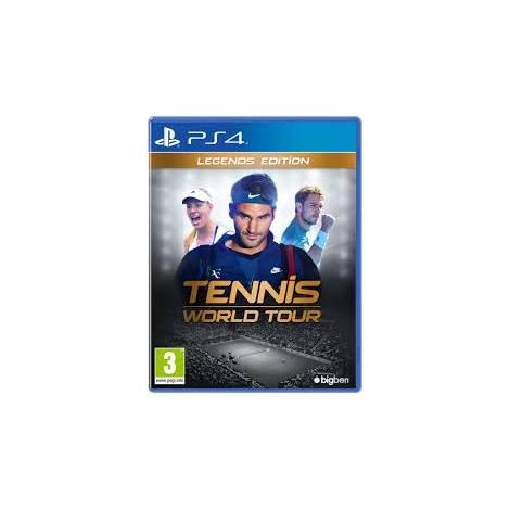 TENNIS WORLD TOUR LEGENDS EDITION (PS4)