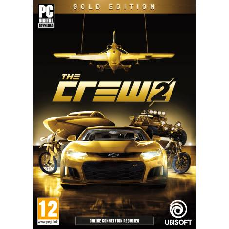 The crew 2 gold edition (PC) (Code Only)