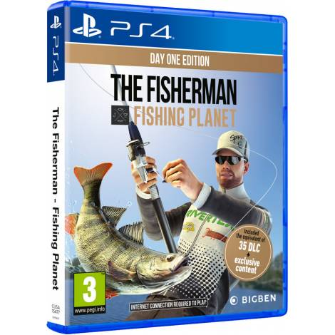 The Fisherman: Fishing Planet (PS4) (Day One Edition)